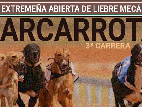 Liga extremeña abierta de liebre mecánica 3ª CARRERA