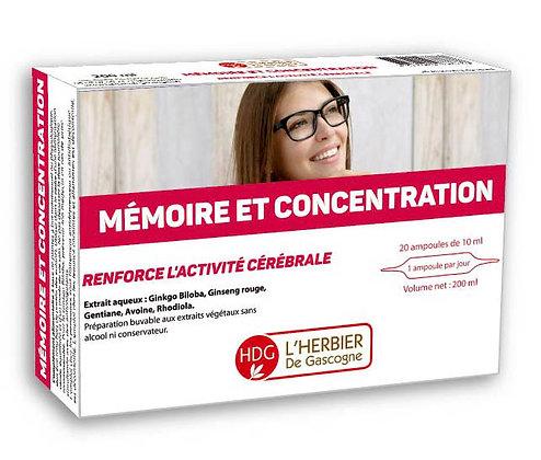 Ampoules- Mémoire & Concentration