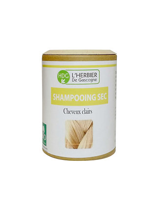Shampooing sec - Cheveux clairs