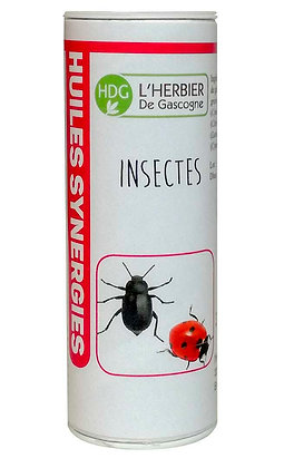Synergie d'Huiles Essentielles - Insectes