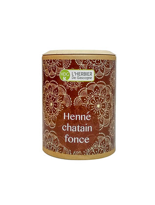 Henné - Châtain foncé 100gr