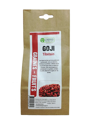 GR & FR - Goji Baies Fruit 200gr