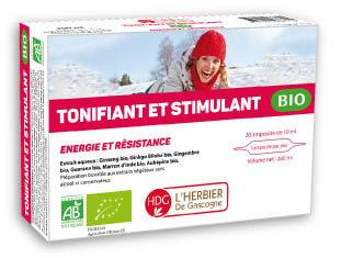 Ampoules - Tonifiant & Stimulant BIO