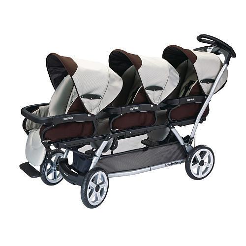 Our Peg Perego triplets stroller