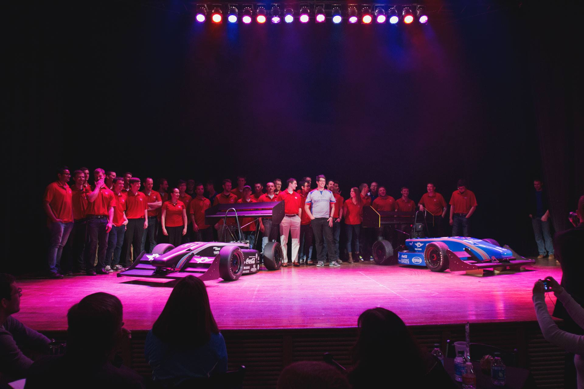 JMS14 Unveiling Both Cars