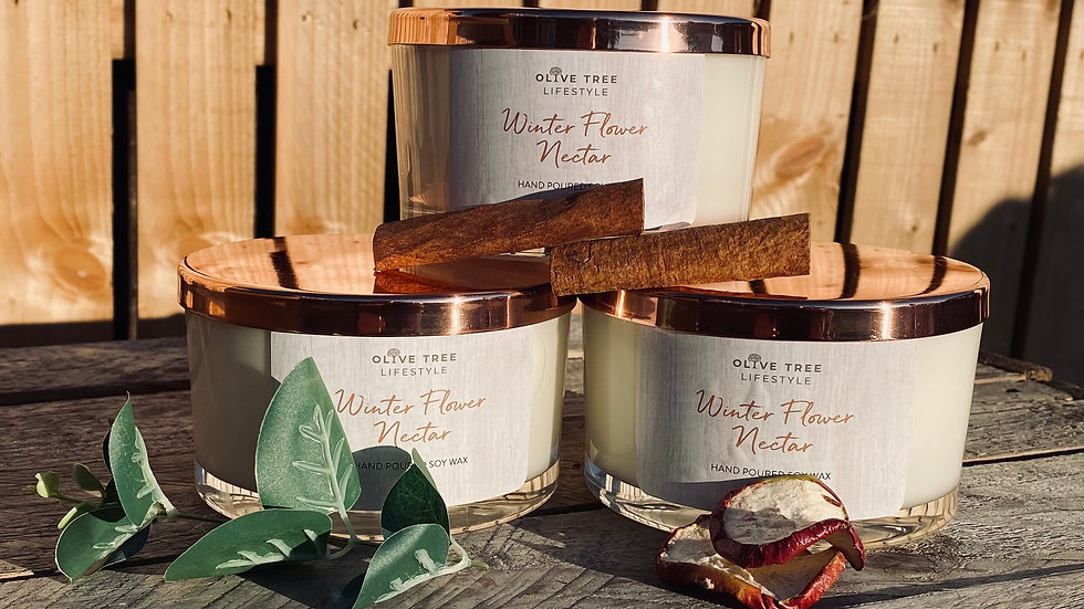 3 Three Wick (440g) Candles for £75