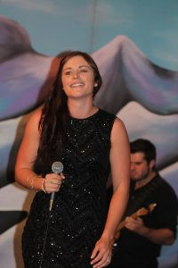 Singing out . Lana Mackay, of Gore, was the senior overall winner at the awards.