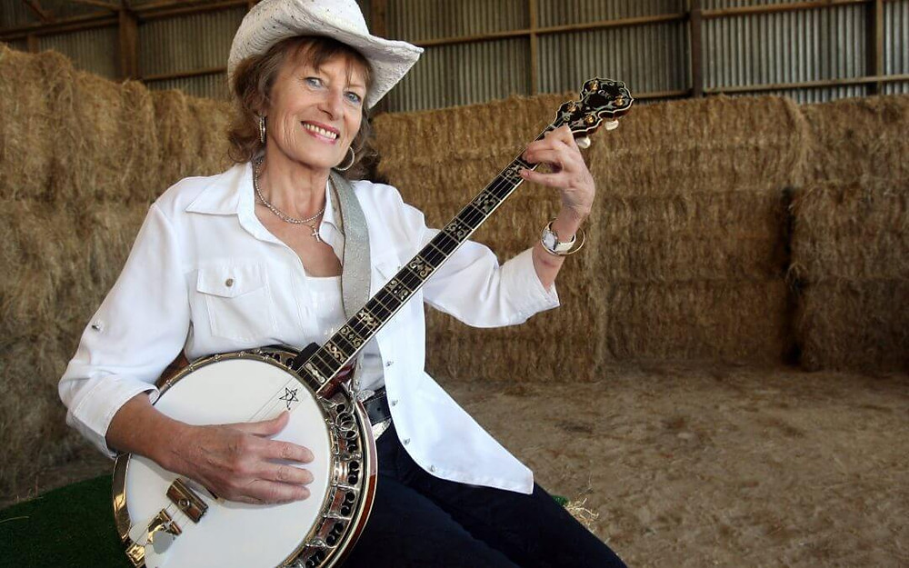 Jenny Blackadder at the Clareville Country Music Festival