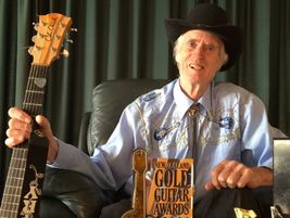 Owaka musician shines at Gold Guitars