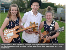 Young musicians shine-Gold Guitar Awards