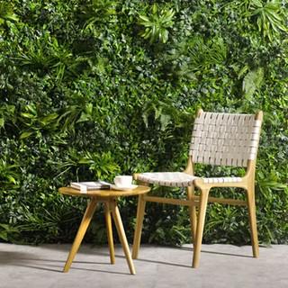 Fern mixed green wall