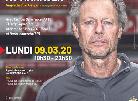 COLLOQUE UEFA: De l'entraîneur au manager...