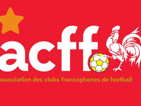 Le FC Horion obtient le label 1* de l'ACFF