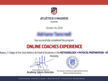 Les premiers diplômés belges de l'Atlético de Madrid