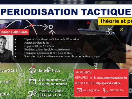 Formation: La périodisation tactique (théorie et pratique)