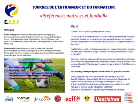 Préférences motrices et football