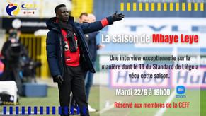 La saison de Mbaye Leye: retour sur sa première expérience de T1 au Standard de Liège