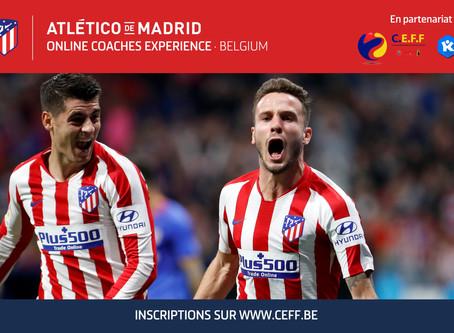 Formations Atlético de Madrid: Les inscriptions sont ouvertes !