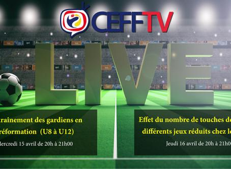 CEFF TV: Découvrez les thèmes de ces 15 et 16 avril