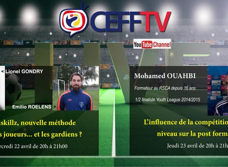CEFF TV: Découvrez les thèmes des 22 et 23 avril
