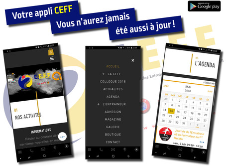 Votre appli CEFF !