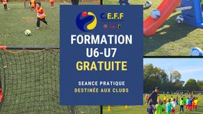 Formation U6/U7 GRATUITE dans les clubs