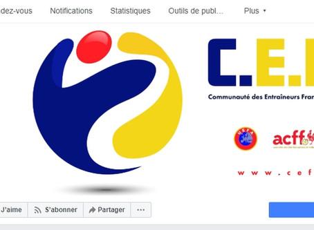 La CEFF a sa page facebook!