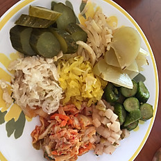 Korean Pickle Plate