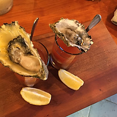 PNW Oysters on Half Shell