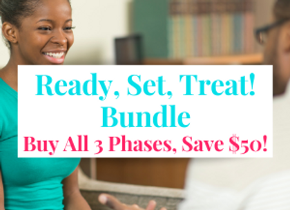 LIVE CLASS: Ready, Set, Treat Bundle: All 3 Phases - Save $50!