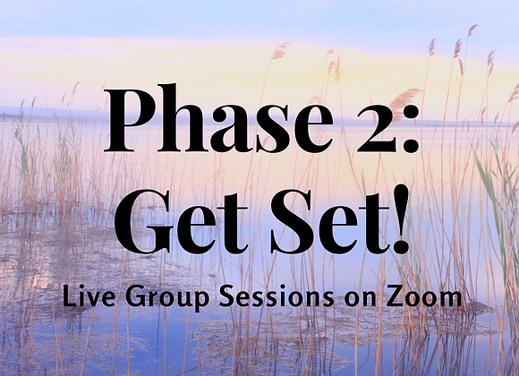 LIVE CLASS: Phase 2: Get SET!