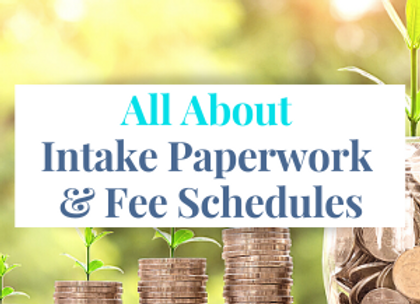 Members Only Paperwork & Fee Schedules
