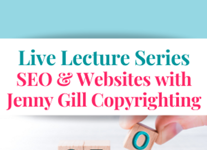 SEO & Websites with Jenny Gill Copyrighting