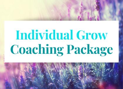 Individual Grow Coaching Package