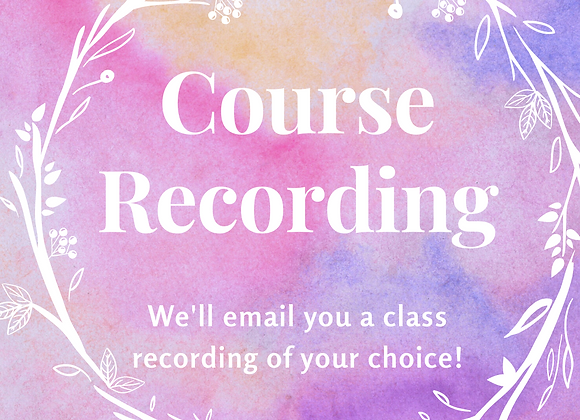 Course Download