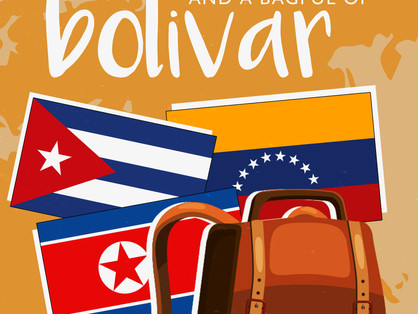 Secret Lands, Petrol Clams and a Bagful of Bolivar:  Funny yet informative