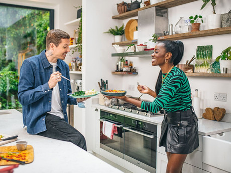 Professor Green & AJ Odudu on food, culture and their newly discovered heritage