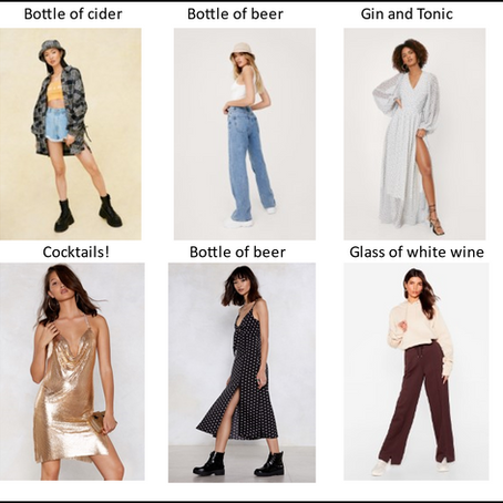 What does your outfit say about your drink choice?