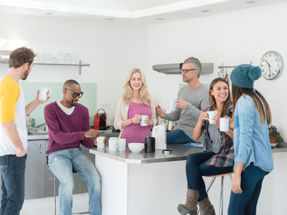 4 in 10 homeworkers yearn for kettle catch-ups over a brew