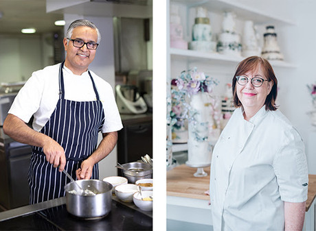 MICHELIN STARRED CHEF & TREND-SETTING CAKE BAKER, JOIN LEARNING WITH EXPERTS LINE UP