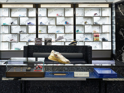 Harrods enters the limited-edition sneaker market welcoming The Edit LDN