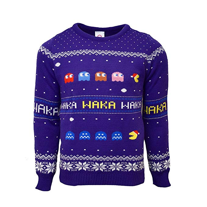 This is the one for the retro  lover in your life. Treat them to a blast from the past with this Pacman Jumper for just £21.79