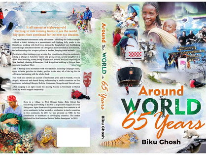 Around the World in 65 Years: A Beautiful Travel Memoir