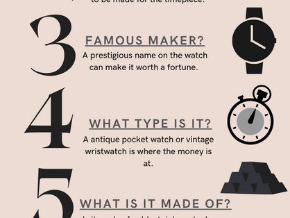 How To Tell if Your Old Watch is a Hidden Fortune