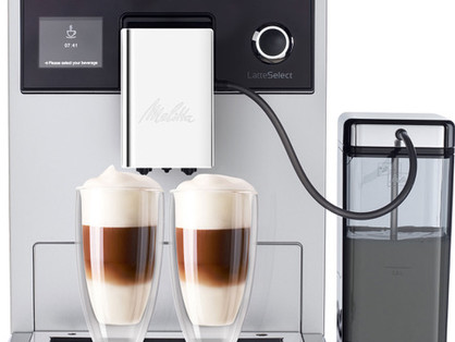 One Touch Is All It Takes with the NEW LatteSelect®
