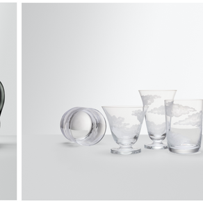 New-York based designer Jonathan Hansen unveils 'In The Clouds' crystal glassware collection
