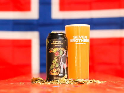SEVEN BRO7HERS HAS A 'EUREKA' MOMENT WITH ITS NEW OSLO-INSPIRED 7TH BIRTHDAY IPA