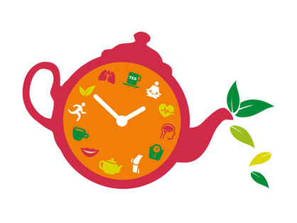 80% of Brits say drinking tea helps to improve their mood, while 40% claim it keeps them calm