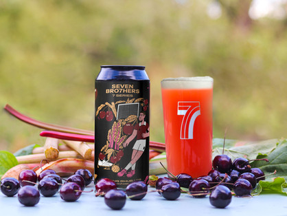 The cherry on the top! Seven Br7hers launches berliner weisse beer to to celebrate it's 7th birthday