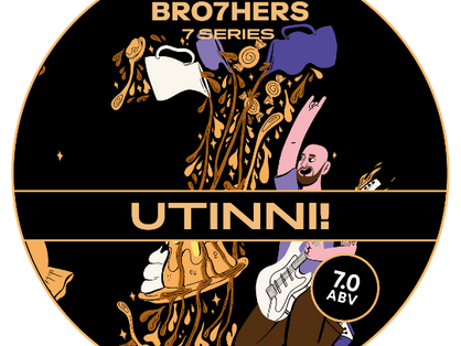 Sticky Toffee pudding beer joins seven bro7hers birthday series
